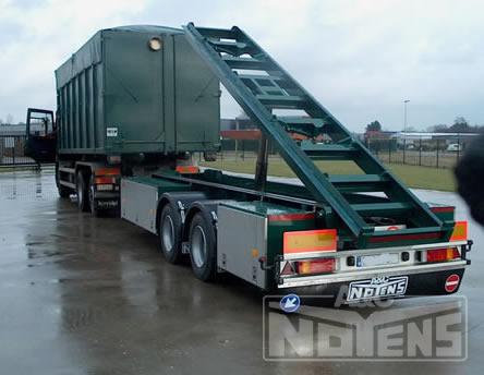 Remorque porte conteneurs a c noyens nv remorques et for Cout container maritime
