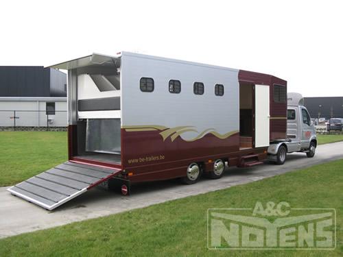be trailer voor paardenvervoer a c noyens nv aanhangwagens carrosseriebouw a c noyens nv olen. Black Bedroom Furniture Sets. Home Design Ideas