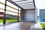 802492 be trailer met 1 zijde standaard schuifzeil en 1 zijde pentawave systeem
