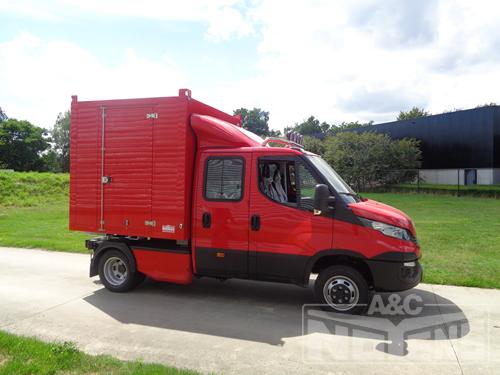 Verwonderend BE-trailer voor tuin en bouwsector - A&C Noyens NV │Aanhangwagens HE-45