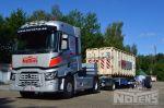 802417 trekker aanhangwagen containerchassis noyens