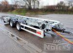 802240 middenas aanhangwagen uitschuifbare dissel warmbad verzinkt gegalvaniseerd chassis luchtvering