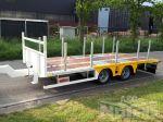 802281 middenasser aanhangwagen wipkar gegalvaniseerd chassis luchtvering schijfremmen oprijrampen