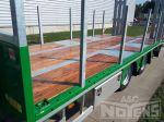 802302 vlakke laadvloer verzinkt chassis gespoten zichtkanten