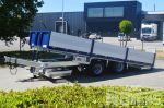 802416 noyens aanhangwagen met 2 vaste assen en kantelplateau