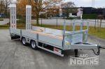 802458 middenasser dieplader aanhangwagen aluminium rampen