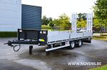 802501 middenasser trailer noyens dieplader remorque surbaissee porte engins