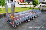 802501 tandemas aanhangwagen noyens dieplader