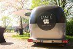 promostreamer Santé gezond met vis foodtrailer food truck