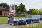 802351 hydraulische verschuifbare rampen dieplader aanhangwagen noyens