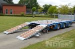 802351 noyens dieplader hydraulische verschuifbare rampen aanhangwagen