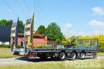 802401 middenasser kantelbare aanhangwagen met hydraulische sideshift rampen