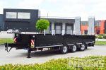 802405 dieplader aanhangwagen met liftas en meeloopas achteraan