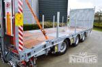 802470 middenas aanhangwagen remorque porte engins trois essieux