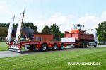802495 porte engins remorque surbaissee dieplader aanhangwagen