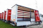 901901 DAF SFTL schuifzeilopbouw vrachtwagens schuifdak neerklapbare zijborden