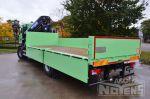 902065 open laadbak met laadkraan vrachtwagenopbouw