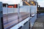 902155 aluminium zijborden met Kinnegrip sluitingen open laadbak