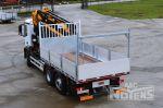 902155 dakdekkersopbouw open laadbak met Effer laadkraan