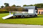 902194 vrachtwagenopbouw open laadbak met hardhouten vloerplanken