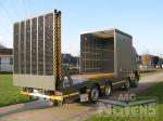 open laadbak transporter heftrucks