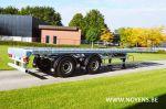 802532 trailer chassis oplegger met stuursysteem