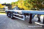 802532 trailer noyens chassis met gedwongen gestuurde as