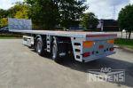 802425 noyens plateau trailer met gestuurde assen