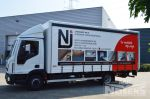 700567 vrachtwagenopbouw met 1 zijde schuifzeil