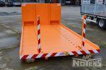 700577 vlakke container voor nadarhekken transport
