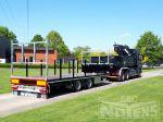 802285 volumecombinatie vrachtwagen en aahangwagen voor diverse transportmogelijkheden