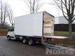 802318 gekoelde opbouw be trailer kortgekoppelde met be trekker