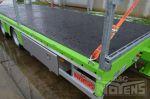 802376 aanhangwagen middenasser noyens gegalvaniseerd chassis rubber coating dieplader