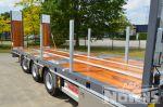 802401 drie assige dieplader aanhangwagen gegalvaniseerd chassis