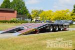 802401 kantelbare aanhangwagen dieplader remorque basculante surbaissée