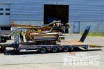 802401 tridem dieplader aanhangwagen met hydraulische rampen