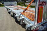 802402 tridem asser aanhangwagen gegalvaniseerde uitvoering noyens