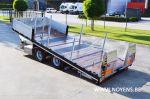 802513 kantelbare aanhangwagen dieplader noyens remorque surbaissee porte engins