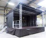 802530 mobiel podium op aanhangwagen middenasser noyens gemeente Kasterlee
