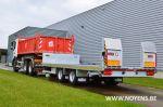802549 kantelbare dieplader middenas aanhangwagen noyens