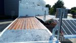 902005 vrachtwagenopbouw open laadbak met hydraulische ramp dhollandia