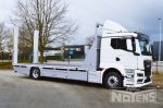 902159 transporter vrachtwagen vervoer aanhangwagens oprijrampen aluminium