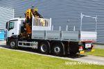 902215 vrachtwagenopbouw noyens open laadvloer met aluminium zijborden